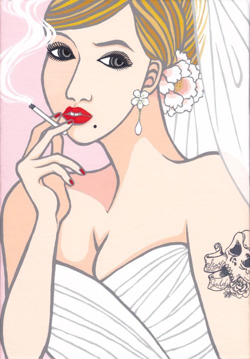 不機嫌な花嫁